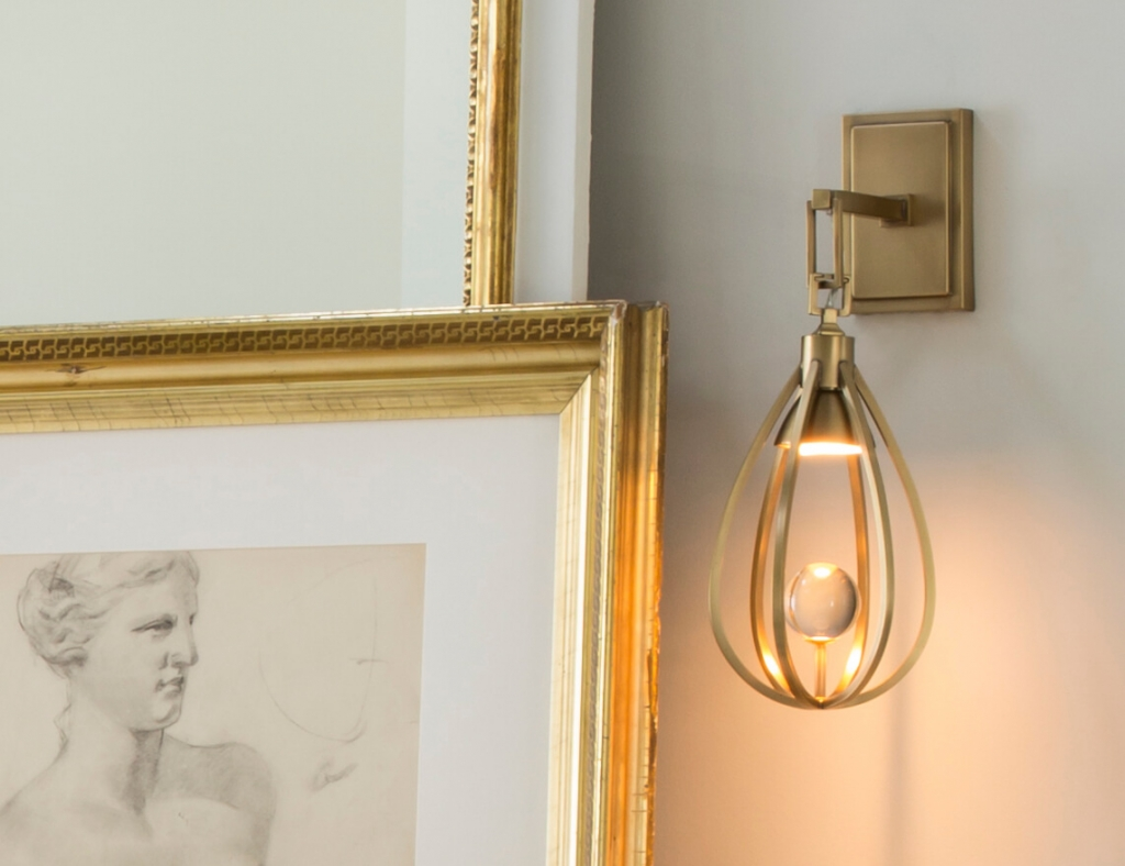 Athena Sconce by Arteriors, available in the West Hollywood Design District
