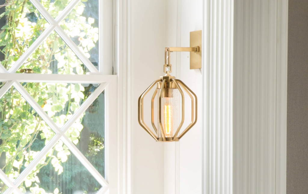 Atlas Sconce by Arteriors, available in the West Hollywood Design District