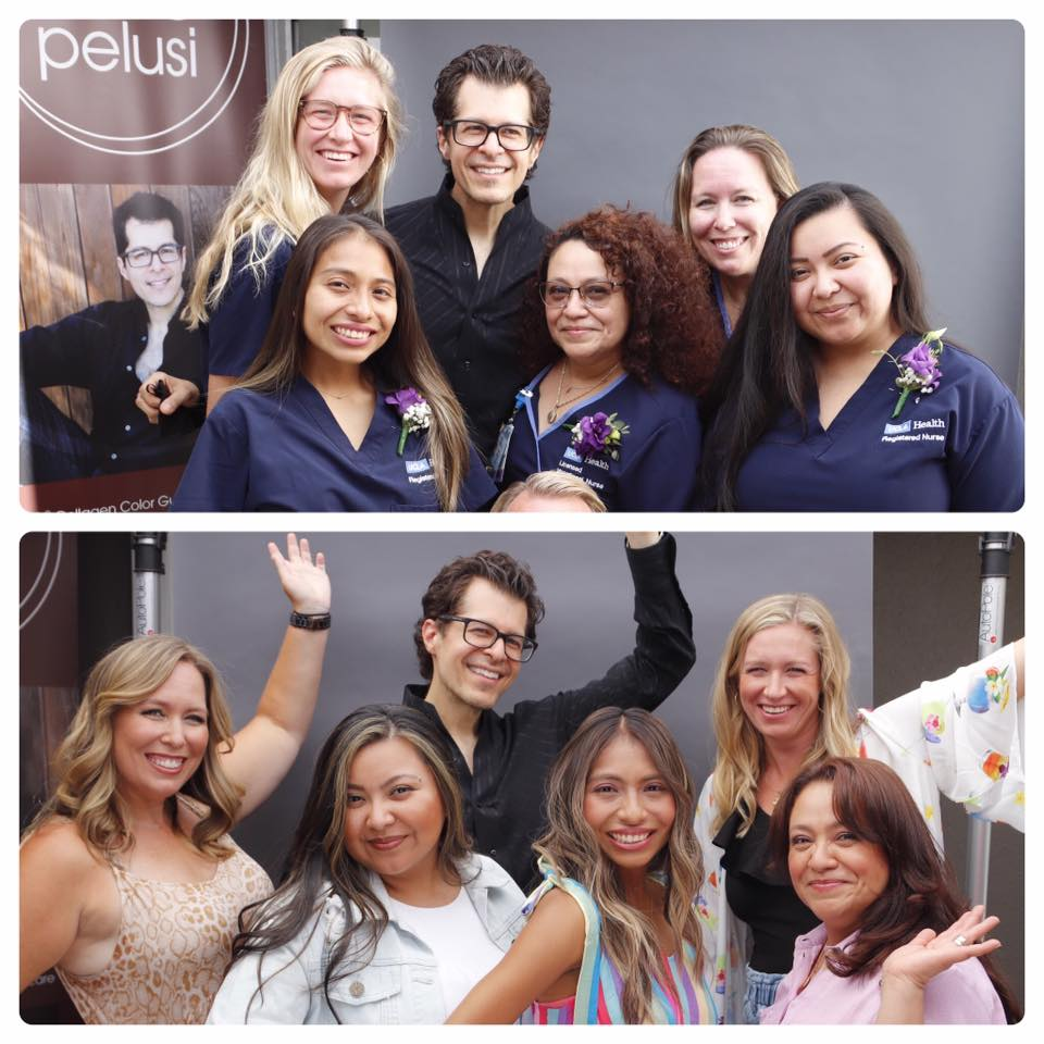 Celebrity Stylist Marco Pelusi Honors UCLA Frontline Nurses with Beauty Makeover Event