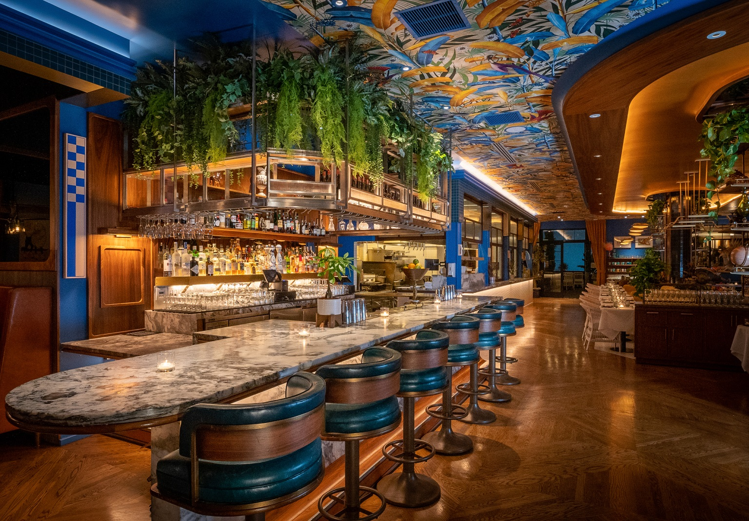 Issima Restaurant at La Peer Hotel takes you on a European Vacation