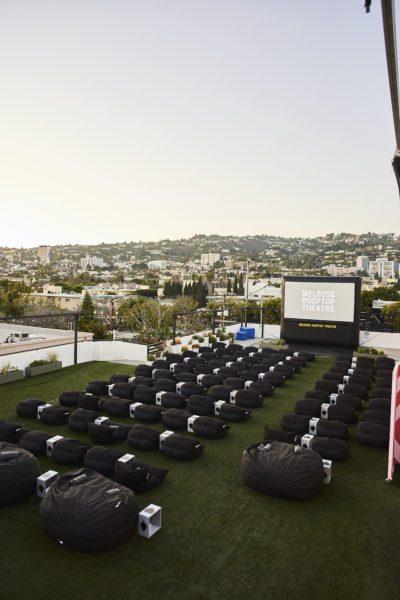 E.P. & L.P. offers a unique outdoor cinema experience